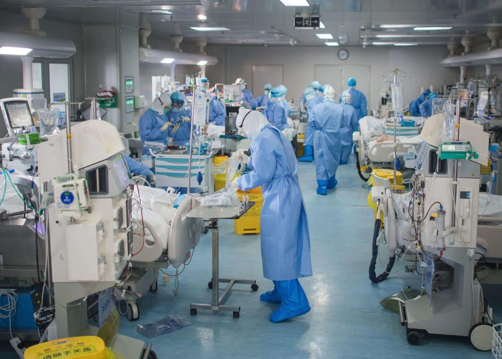 COVID 19 Patients Occupy All Beds, Hospitals In The South Ring The Alarm Bell