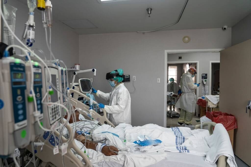 The Number Of COVID 19 Hospitalizations Surges Again, But With A Difference