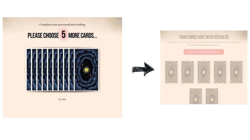 Master Li's Tarot Card Reading - 2 card to choose