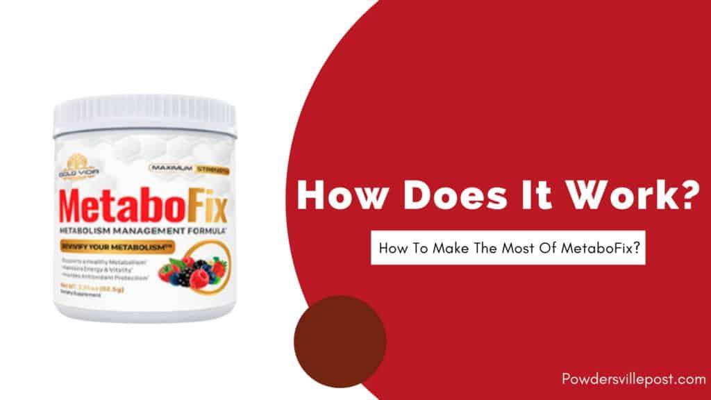 MetaboFix Supplement - scientific evidence