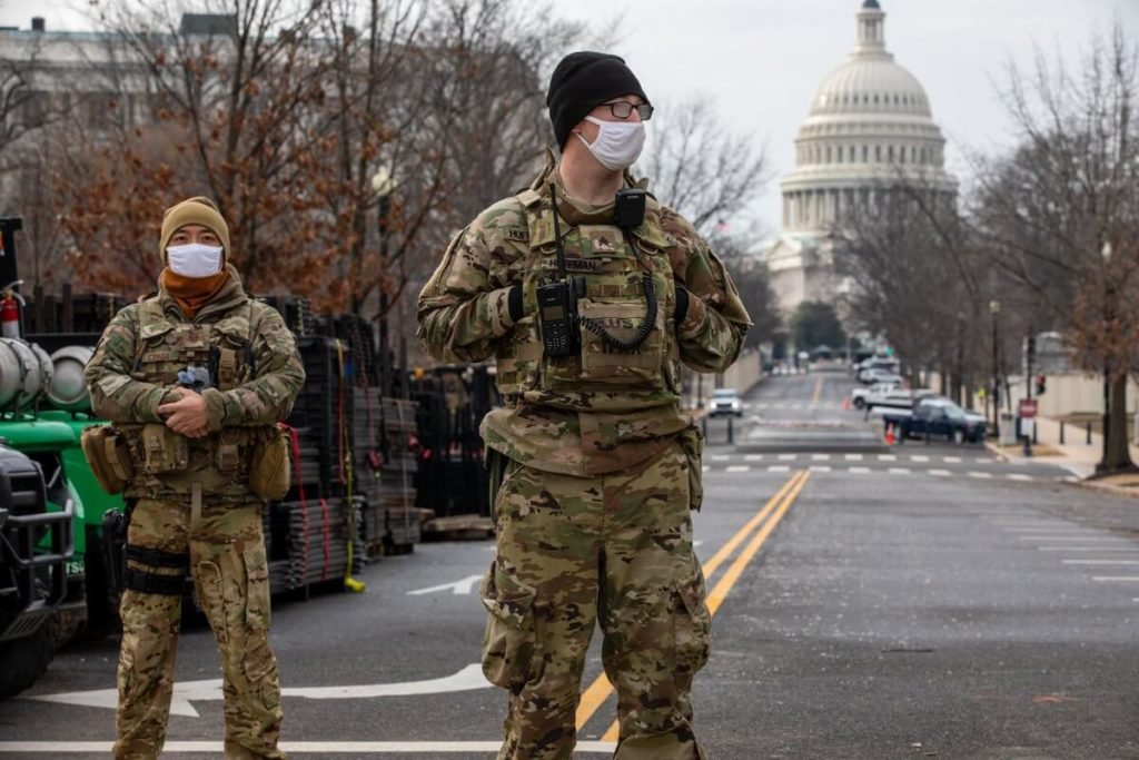 National Guards Deployed In Covid-Stricken Oregon