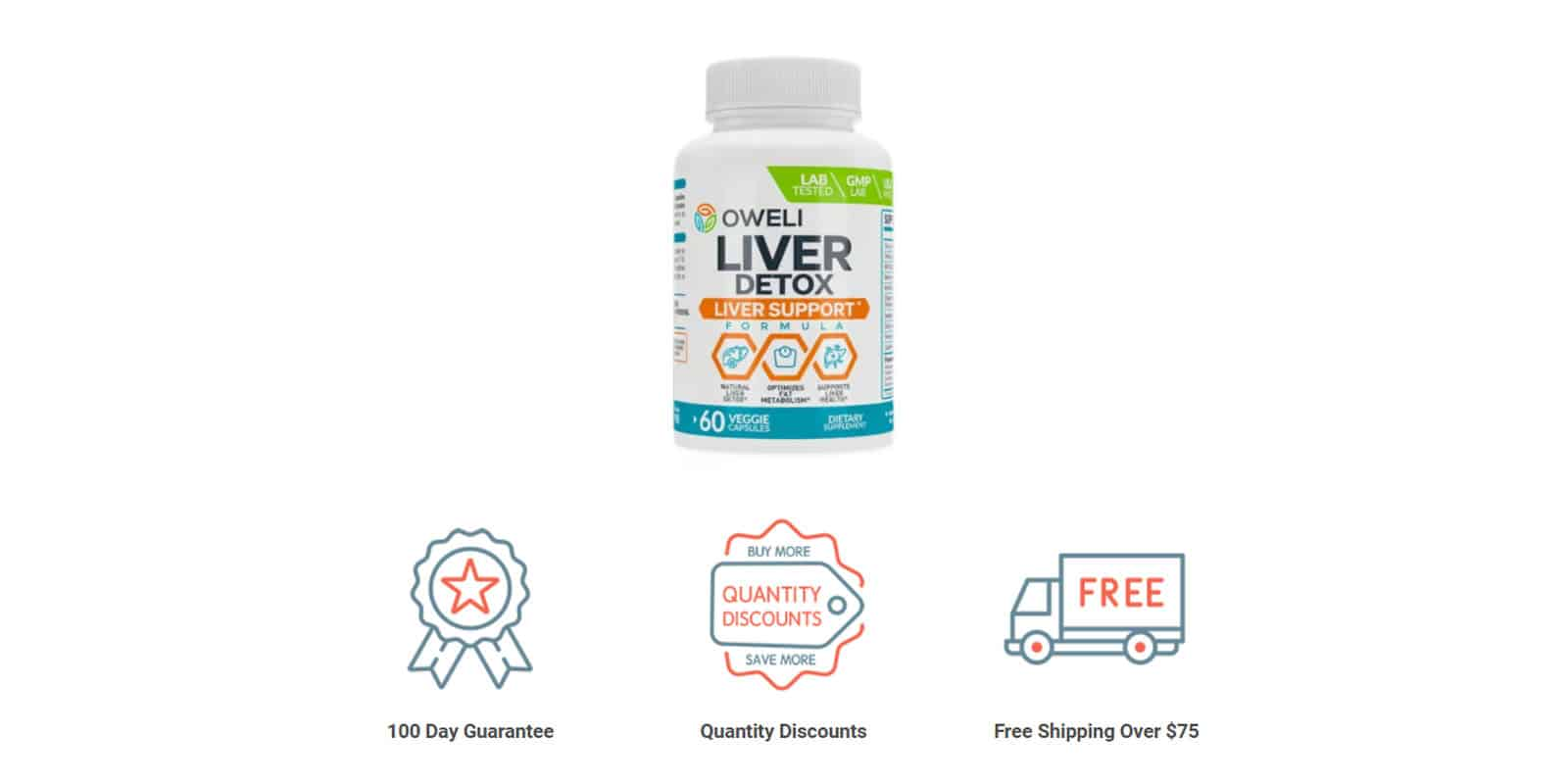Oweli Liver Detox Supplement Money Back Guarantee