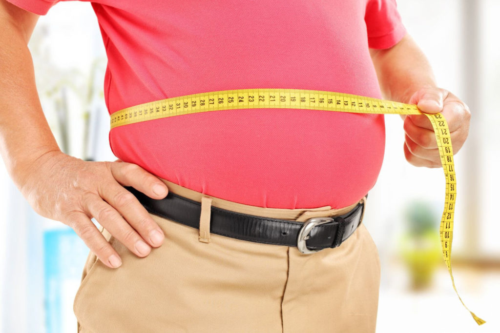 Study Finds A Link Between Body Fat And Reduction In Gray Matter