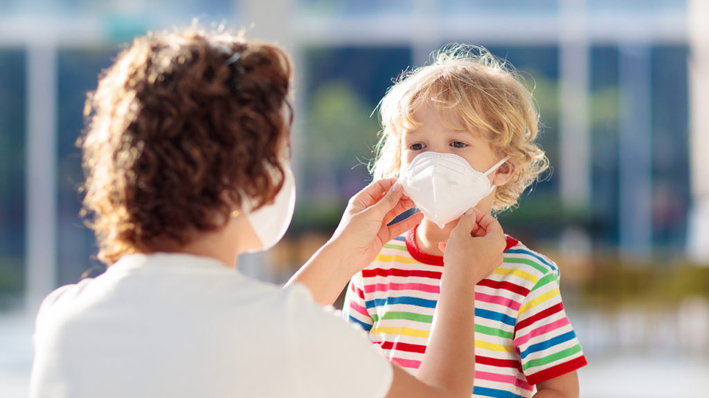 Utah To Give KN95 Masks To Children As The Delta Variant Causes Surge In Hospitalizations