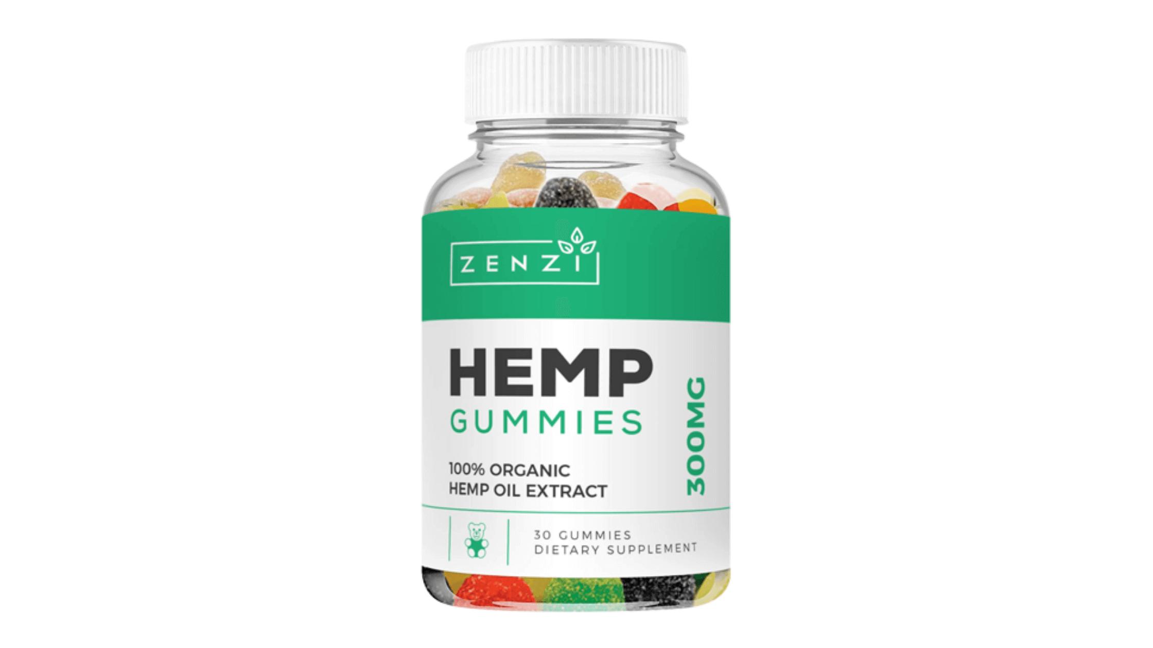 Zenzi Hemp Gummies Reviews