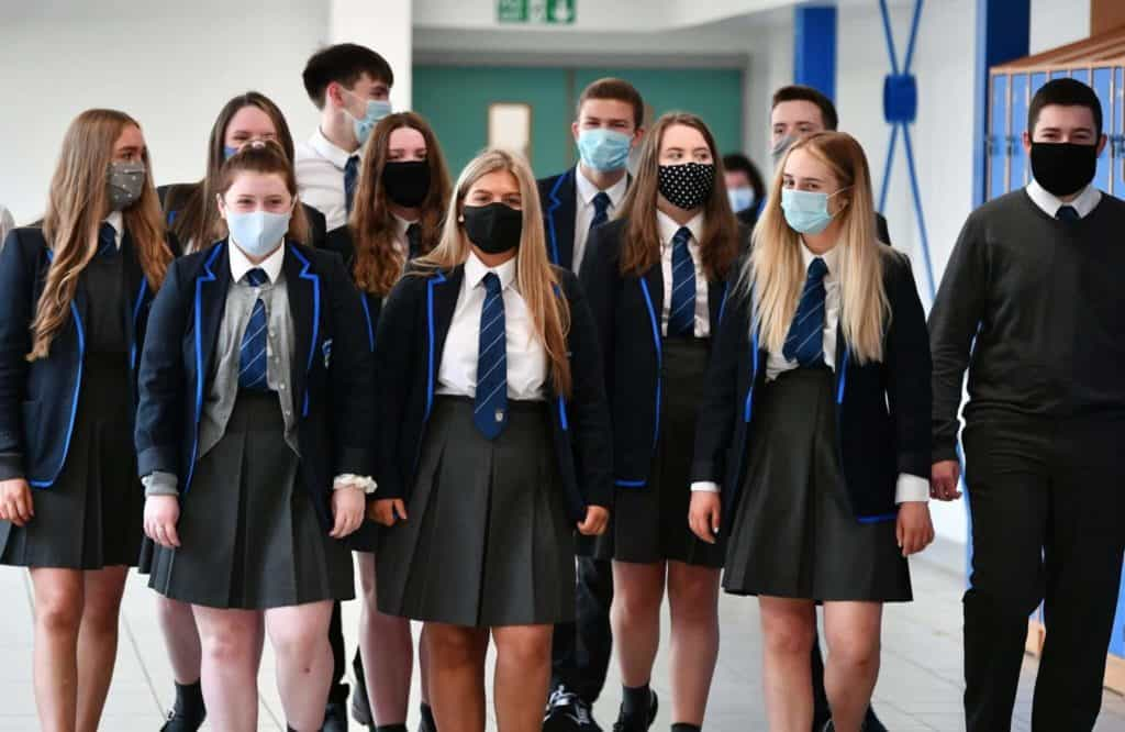 As The Delta Variety Causes Illness In Youngsters, Many Schools Are Requiring Masks