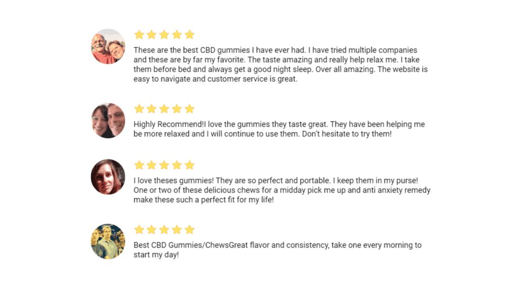 CBD Joy Gummies Customer Reviews