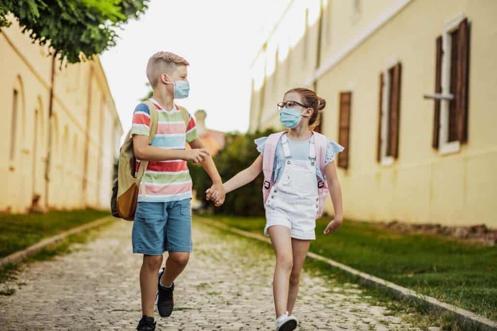 COVID 19 Delta Variant Strikes Kids As School Reopen