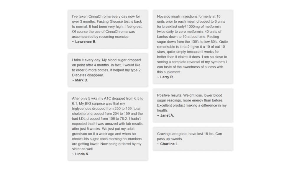 CinnaChroma Customer Reviews