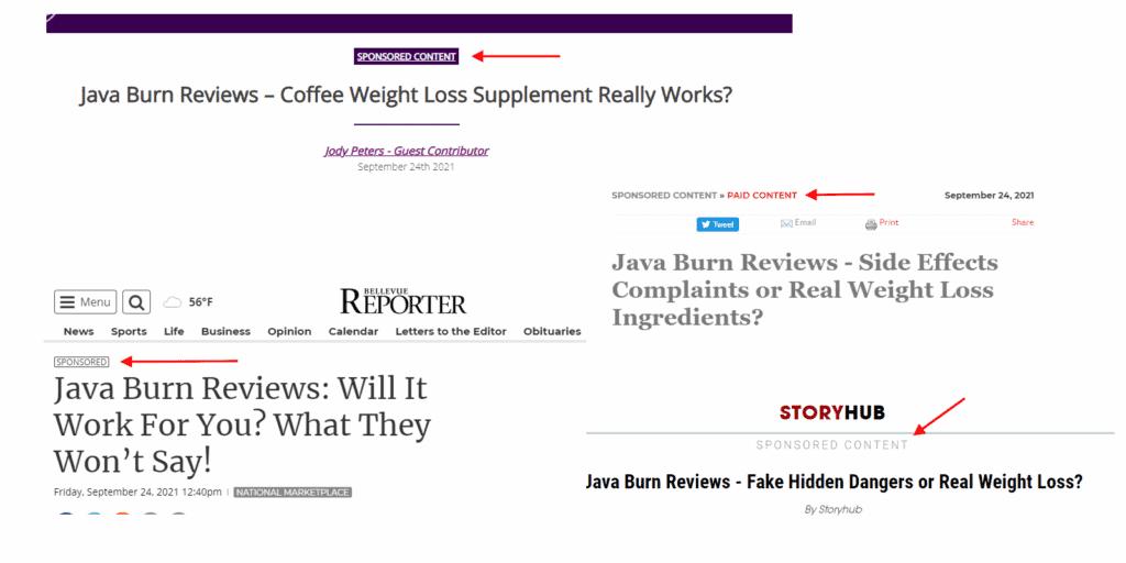 Java Burn Reviews 2021
