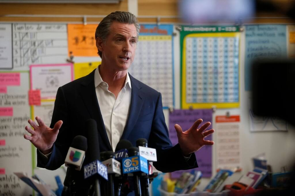 Newsom Victory Due To High Covid Vaccination Rates
