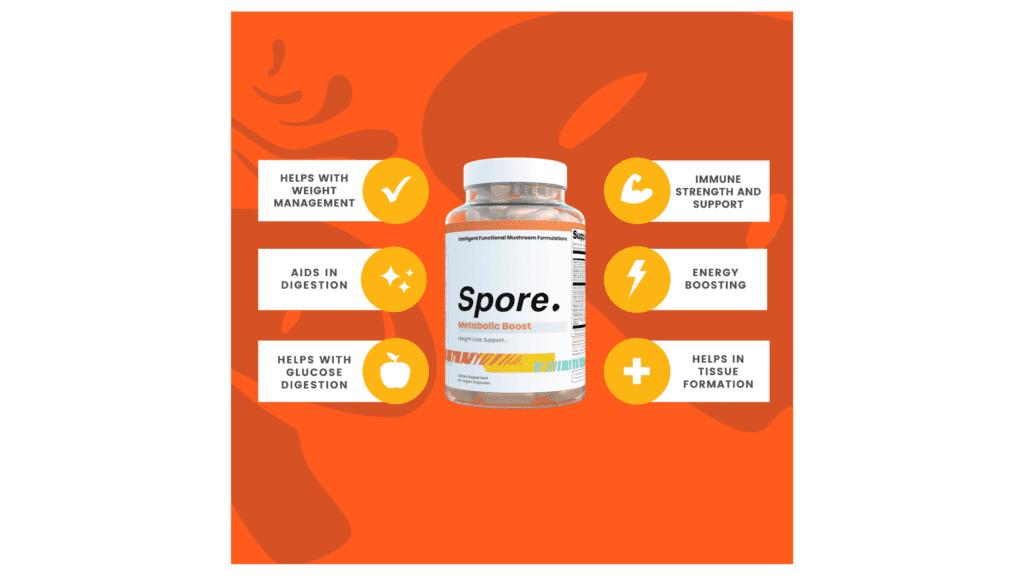 Spore Metabolic Boost Benefits