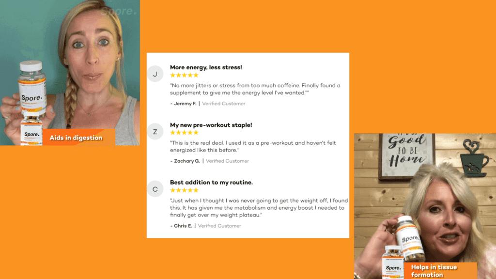 Spore Metabolic Boost Customer Reviews