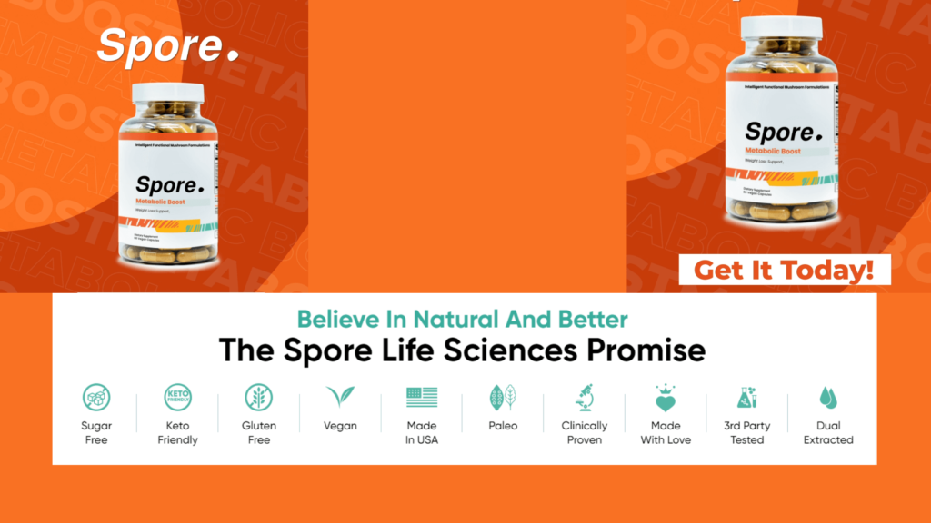 Spore Metabolic Boost Specifications