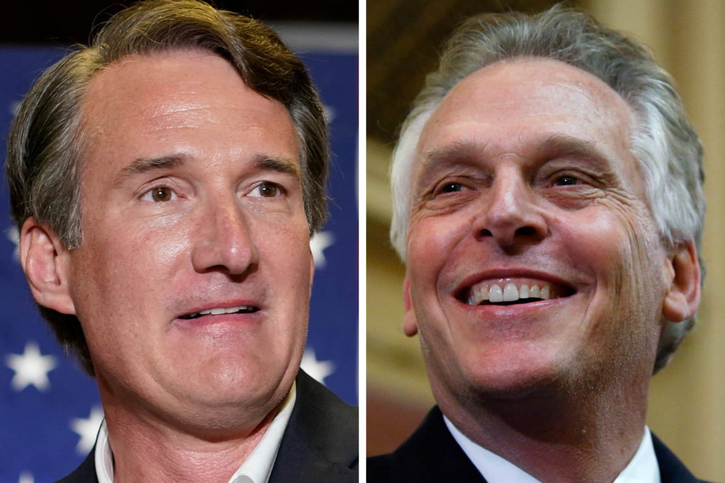 Vaccination Mandates, McAuliffe & Youngkin Head To Head In First Debate