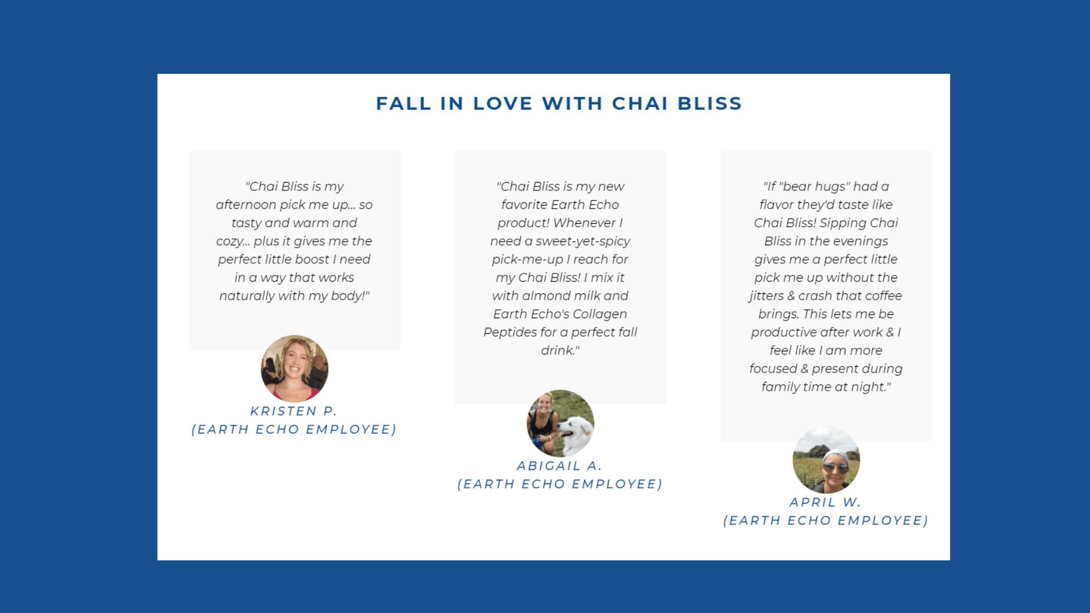 Chai Bliss Customer Reviews