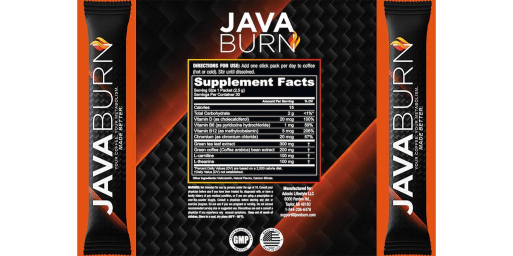 Daily Dosage of Java Burn Powder