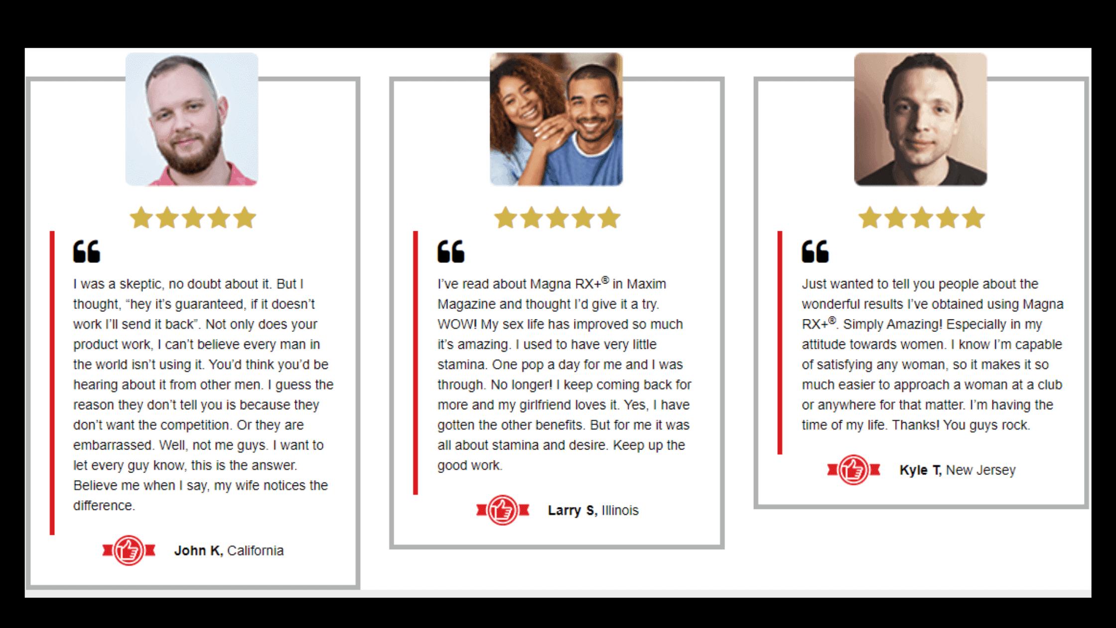 Magna RX Plus Customer reviews