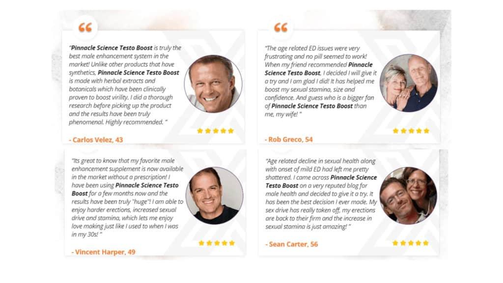 Pinnacle Science Testo Boost Customer Reviews