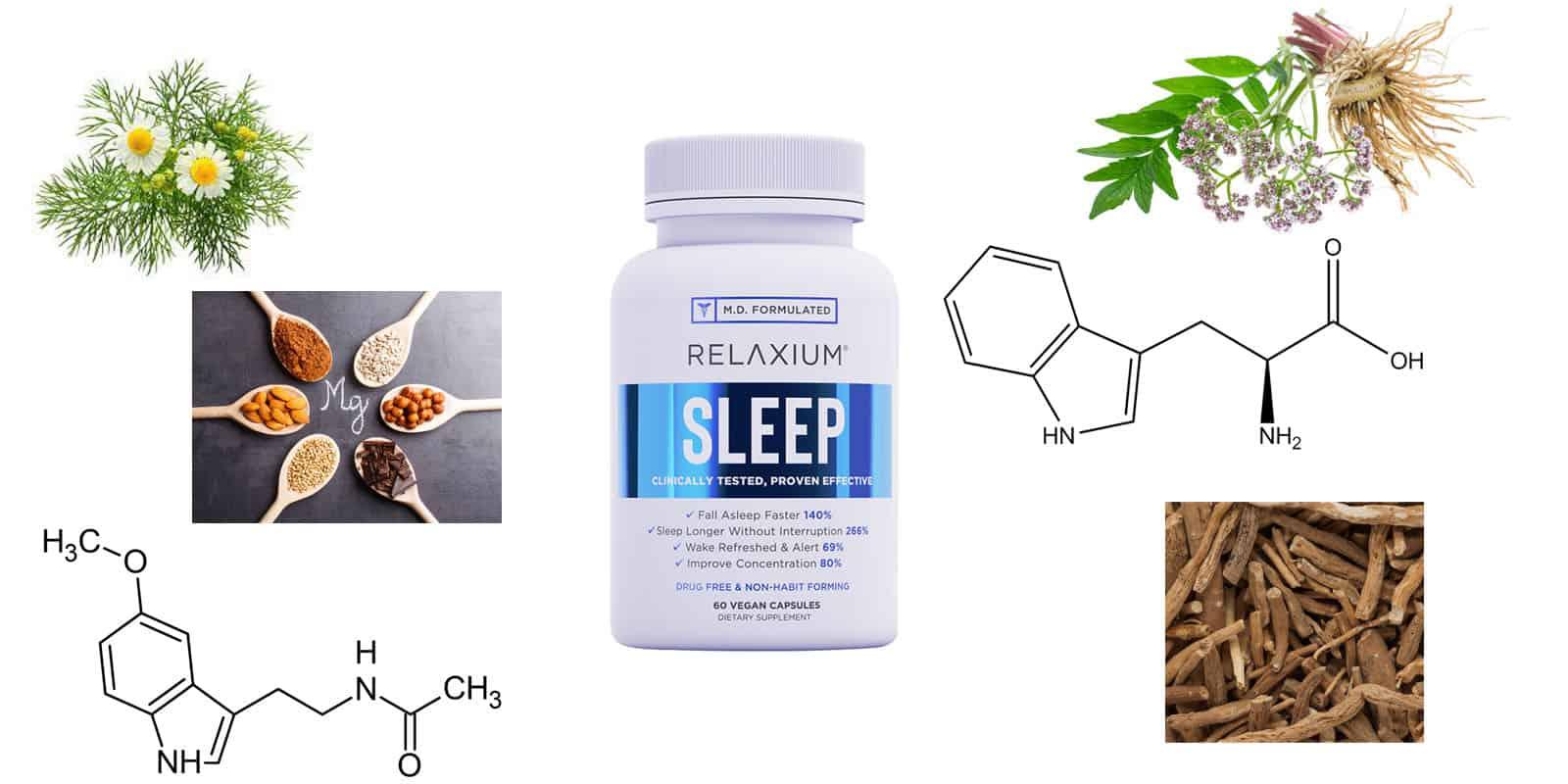 Relaxium Sleep Ingredients